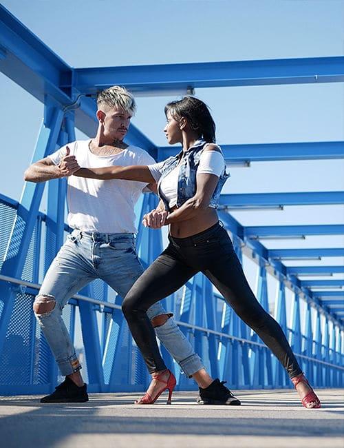 Shooting en Essonne lifestyle en duo