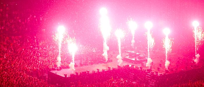 concert feu d'artifice