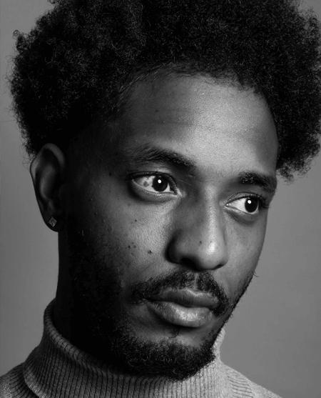 portrait homme noir et blanc